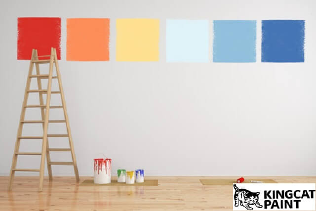 những lưu ý khi tự sơn nhà