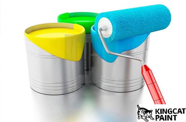 Cách bảo quản sơn tường bị thừa
