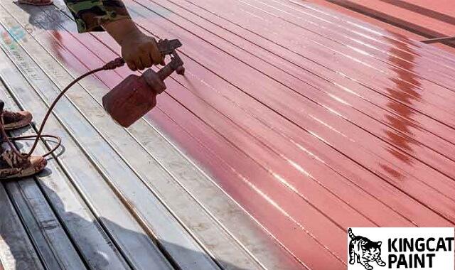 Phun sơn kim loại để ngăn ngừa rỉ sét