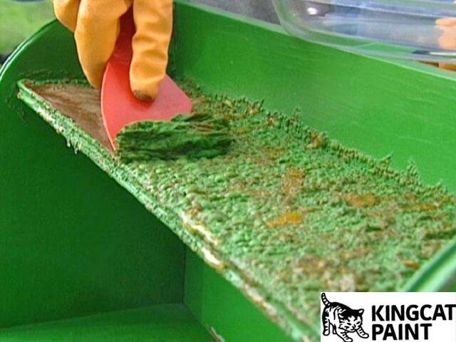 cách tẩy sơn trên sắt bằng phương pháp thủ công