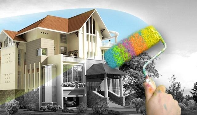 Sơn chống thấm sẽ giúp cho ngôi nhà của bạn được bền lâu hơn