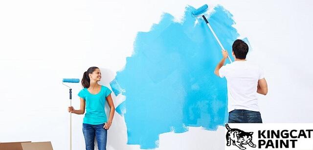 Cách tự pha sơn nước gốc
