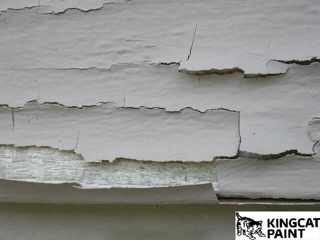 Cách xử lý sơn tường bị phồng rộp đối với tường hợp bị bong tróc