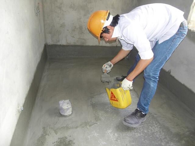 biện pháp chống thấm nhà vệ sinh