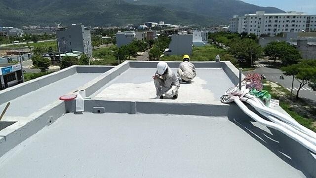 biện pháp chống thấm cho sàn mái