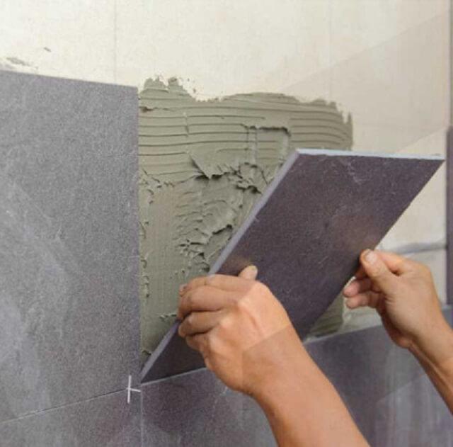 lưu ý khi sử dụng gạch ốp tường chống thấm