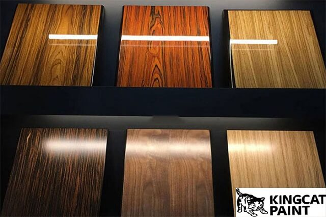 đặc điểm của sơn gốc nước cho gỗ