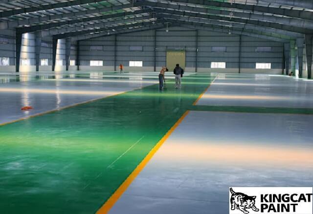 Dự án được thi công sơn sàn epoxy
