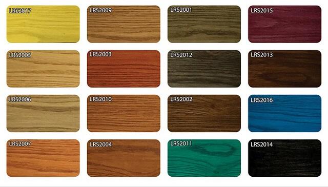 Hệ thống màu sắc của sơn gốc nước cho gỗ
