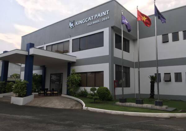 Kingcat Piant - địa chỉ mua sơn 2 thành phần uy tín