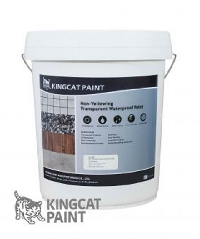 lưu ý khi dùng sản phẩm chống thấm kingcatpaint
