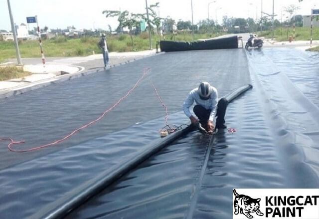phương pháp thi cống màng chống thấm HDPE