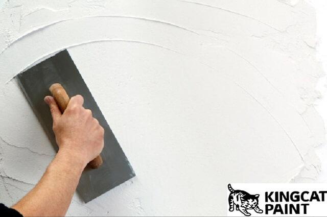 Hãy chắc chắn tường của bạn đã hoàn toàn sạch sẽ