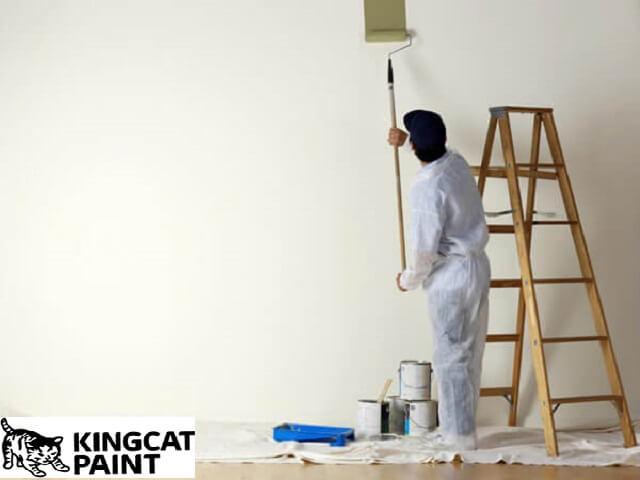 Sơn lót cẩn thận trước khi tiến hành sơn phủ