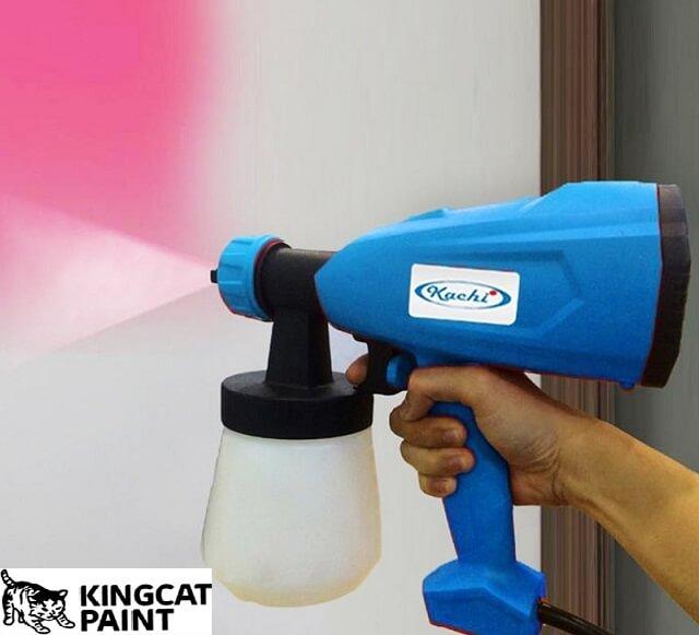 Thiết bị trong quy trình sử dụng sơn gốc nước phải đạt tiêu chuẩn