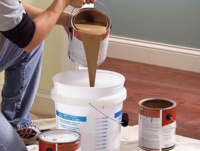 cách pha chế sơn 2 thành phần