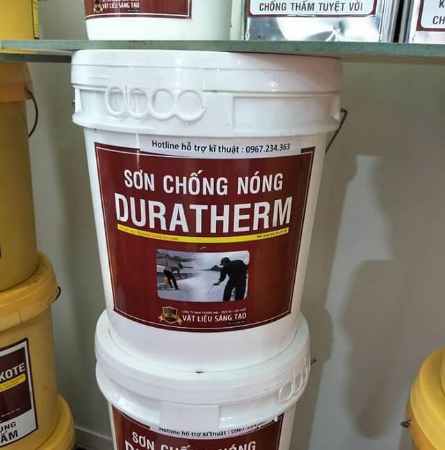 Sơn cách nhiệt cho tường Duratherm