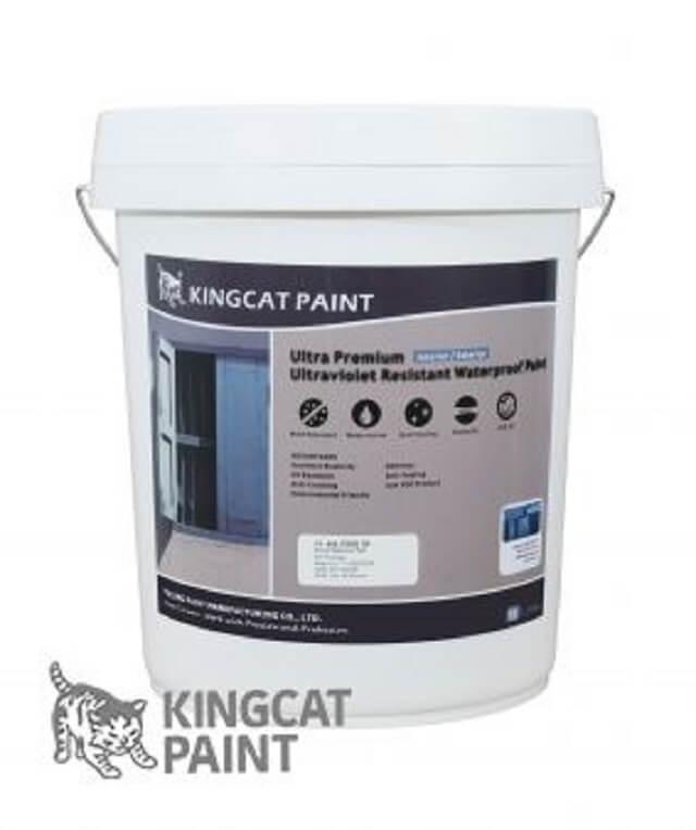 Sơn Kingcat Paint có độ chống thấm, dễ lau chùi tốt nhất hiện nay