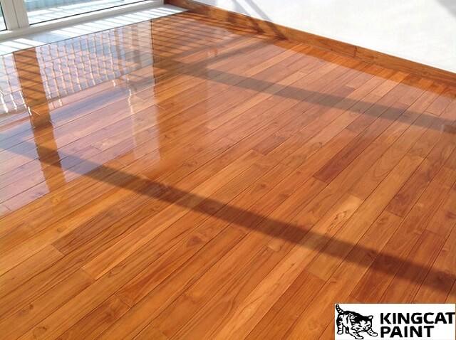 sơn gốc nước cho gỗ
