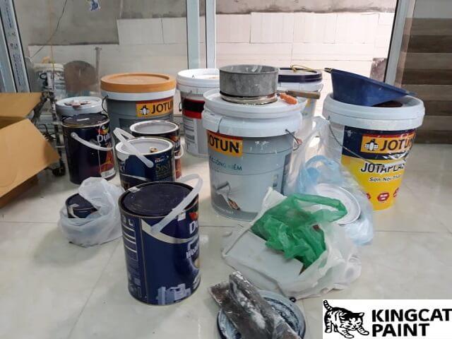cách bảo quản sơn đã pha nước chuẩn nhất