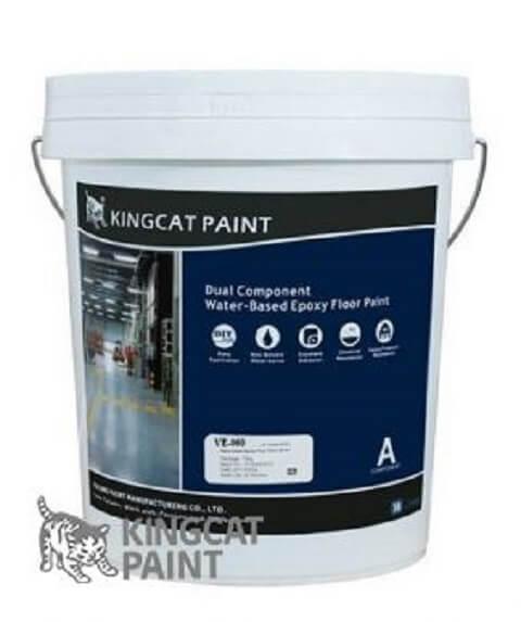 Sơn sàn epoxy gốc nước kingcat