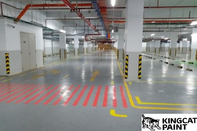 ưu điểm của sơn kẻ vạch giao thông tầng hầm