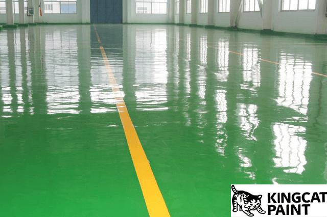 Sơn sàn epoxy có nhiều ưu điểm vượt trội