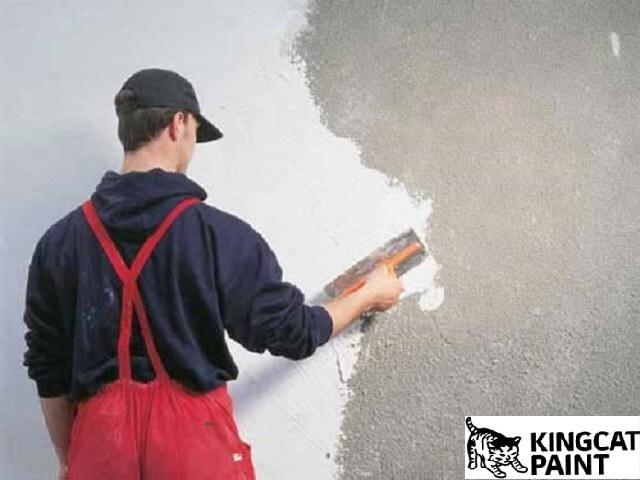 ưu điểm khi dùng bả matit trước khi sơn tường nhà
