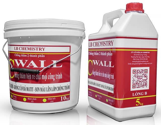 keo chống thấm tường