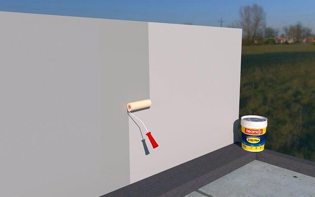 cách dùng keo chống thấm tường ngoài trời đối với nhà mới xây